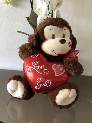 Monkey stuffed animal for loved one for Sale in Glendale, CA