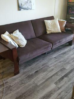 Brown Futon - Wayfair for Sale in Clearwater,  FL