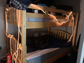 Full Size Real Wood Bunk Beds for Sale in Huntington Beach,  CA