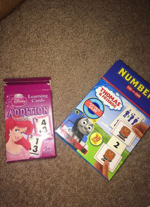 Math games for a little kids for Sale in Bridgeton, MO