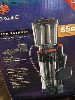65G Coralife super skimmer saltwater tank for Sale in Monee,  IL