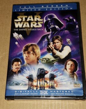 star wars V empire strikes back dvd 2 disc full screen theatrical version brand new for Sale in Los Angeles, CA