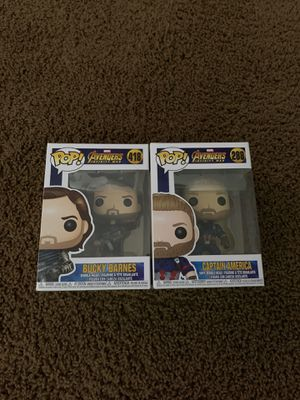 Avengers Infinity War, Captain America & Bucky for Sale in Upland, CA
