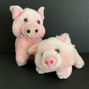 Vtg 80s Russ Plush Pig Pair Piglet Stuffed Animal for Sale in Palmetto, FL