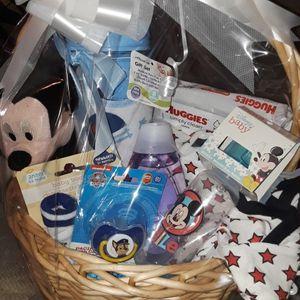 BabyShower Gift Basket For A Babyboy for Sale in Greenville, SC
