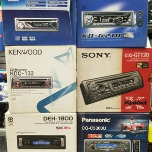 CD Only Car STEREO By Jvc KENWOOD Sony Or PANASONIC. All BRAND NEW for Sale in Los Angeles, CA