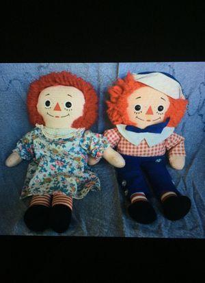 Knickerbocker Raggedy Ann & Andy couple for Sale in Dallas, NC