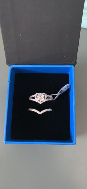 Sterling silver 925 wedding rings for Sale in Crystal Lake, IL