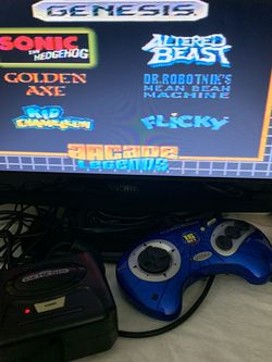 SEGA GENESIS 16 Bit Arcade 6-in-1 TV Game Plug and Play - Retro Arcade Gaming for Sale in Rolling Meadows,  IL