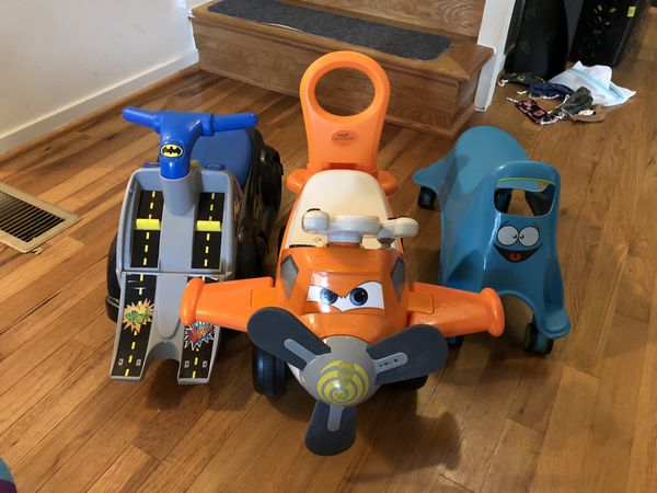 3 ride on toys