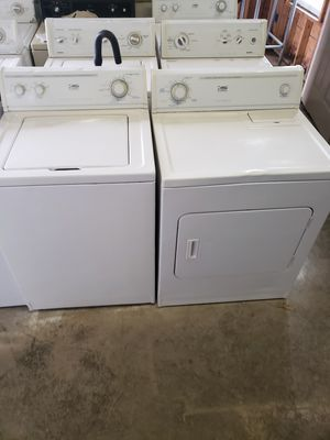 Refurbished washer and dryer sets with warranty for Sale in Butler, PA