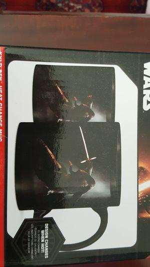 NIB Disney Star Wars Kylo Ren heat change mug for Sale in Fairfax, VA