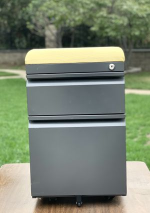 Seat File Cabinet with Wheels for Sale in West Covina, CA