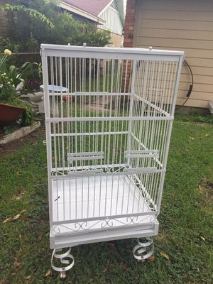 """24x24x80"""" bird cage for Sale in Deer Park, TX"""