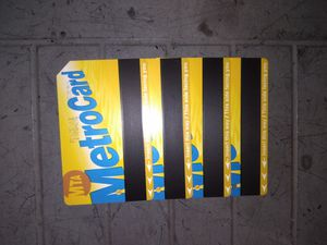 4 Monthly MetroCards for Sale in Brooklyn, NY