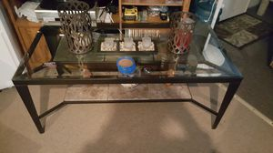 Glass coffee table for Sale in Pittsburgh, PA