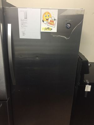 Standing freezer stainless steel Whirlpool new with warranty for Sale in Boca Raton, FL