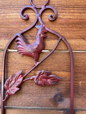 Rooster Plate Rack for Sale in Buda, TX