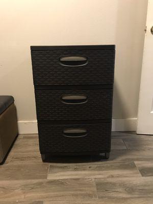 Dresser/storage bin for Sale in Bothell, WA