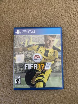 FIFA 17 PS4 for Sale in Gilroy, CA