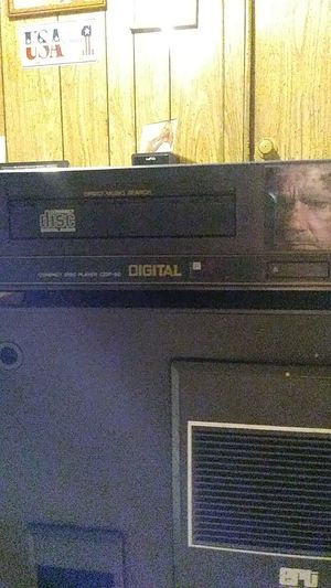 Sony CD player and house speaker for Sale in Stockton, CA