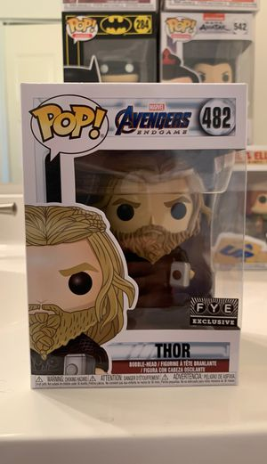 THOR AVENGERS END GAME FUNKO POP! Fye Exclusive OBO for Sale in McLean, VA
