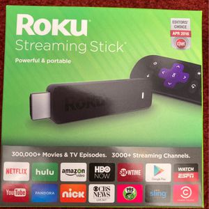 Roku Streaming Stick 3600R for Sale in Richmond, VA