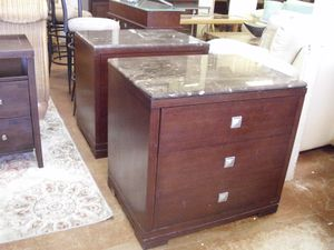 marble top night stands for Sale in Fort Lauderdale, FL