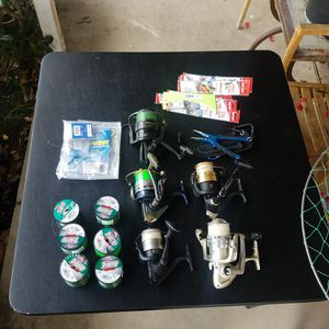 Saltwater Fishing Reels, Rods, and Hooks for Sale in Los Angeles, CA