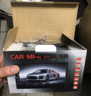 """7"""" car screen/stereo-android-backup camera -mp5 for Sale in Doral, FL"""