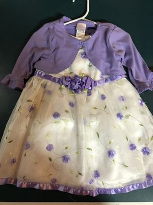 Girls 24 months dress and matching cardigan for Sale in Naperville, IL