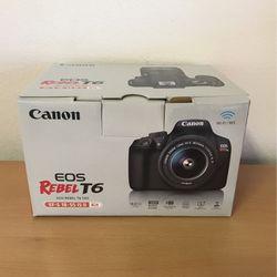 Canon Rebel T6 Kit for Sale in Carlsbad,  CA