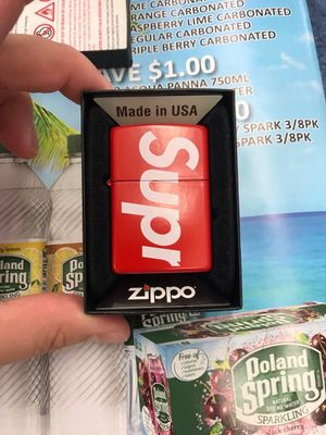 Supreme Zippo Lighter NEW for Sale in Warwick, RI