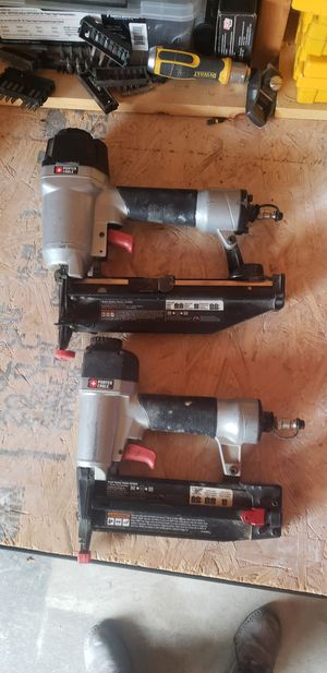 Porter Cable nail guns for Sale in Cleveland, OH