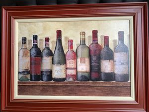 Large wine painting for Sale in Camp Springs, MD
