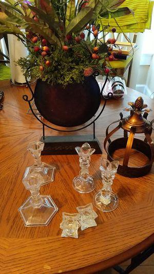 Candle holders, vase artificial Flowers Etc. for Sale in Saint Petersburg, FL