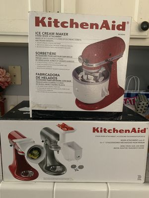 KitchenAid stand mixer attachments for Sale in Henderson, NV
