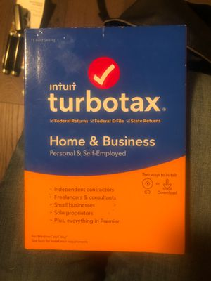 TurboTax home and business for Sale in Dixon, CA
