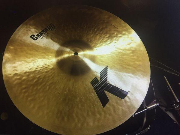 """Zildjian 20"""" K Crash/Ride Cymbal"""