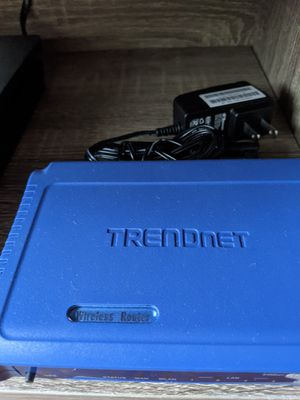 Trendnet WiFi Wireless Router for Sale in North Springfield, VA