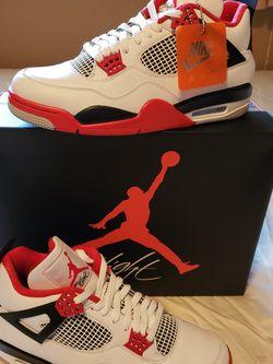 Jordan 4 Fire Red for Sale in Lynnwood,  WA
