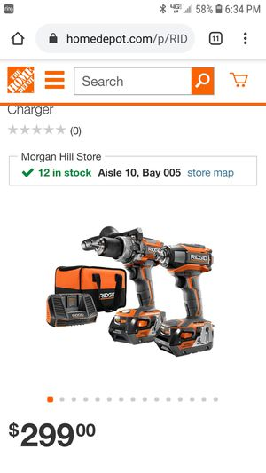 Ridged Power Tools for Sale in Morgan Hill, CA