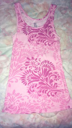 Women's GAP light and dark pink swirl design tank top size Medium very cute! for Sale in Adelphi, MD