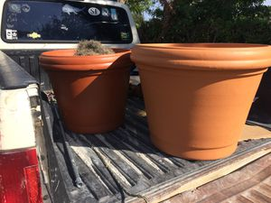 Big and beautiful terra-cotta pots for Sale in West Palm Beach, FL