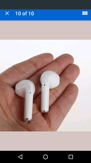 Wireless Bluetooth earphones headphone earbuds for Apple iPhone android w charging box free shipping - usa for Sale in Framingham, MA