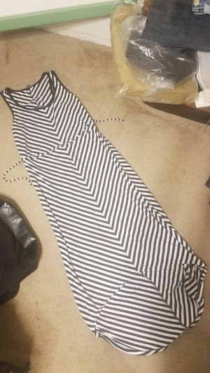 Black White Comfy Dress Medium Woman for Sale in Phillips Ranch, CA
