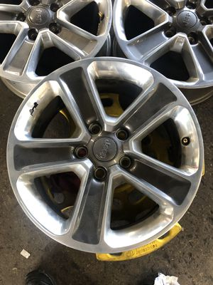 2018 Jeep Wrangler Sahara Wheels for Sale in Fort Lauderdale, FL