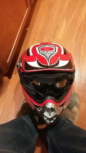 Fulmer dirt bike helmet with thor goggles and a bell dirt bike helmet for Sale in San Angelo, TX