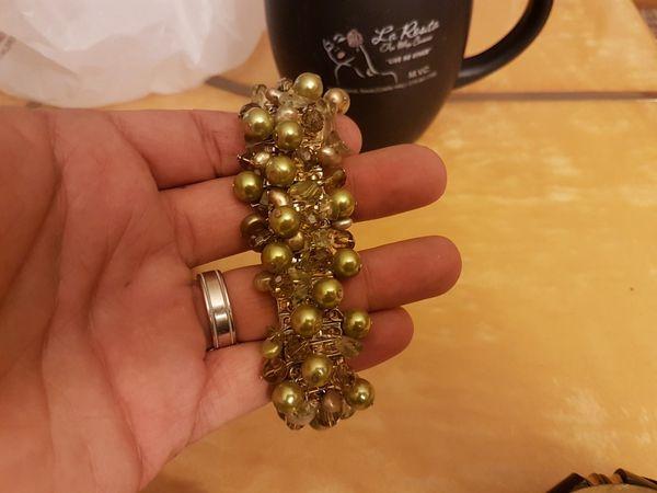 hand made antique bracelets..