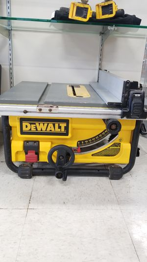 """Dewalt 10"""" Compact Job Site Table Saw for Sale in Tacoma, WA"""